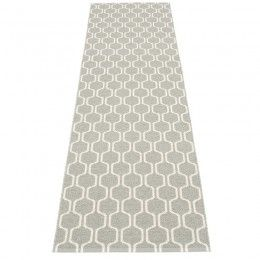 Pappelina Ants Runner Rug Warm Grey