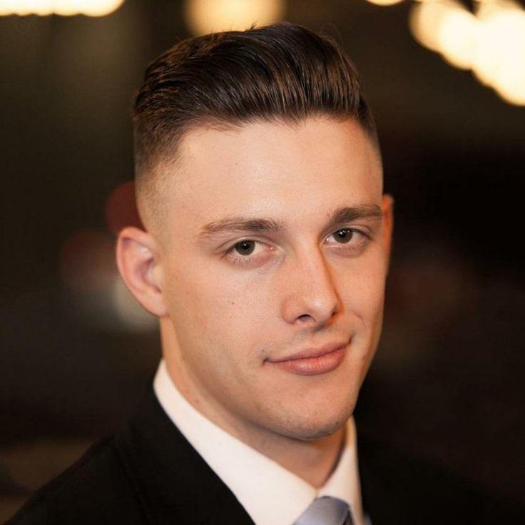 coiffure homme desprit rétro , combinaison de rockabilly et undercut