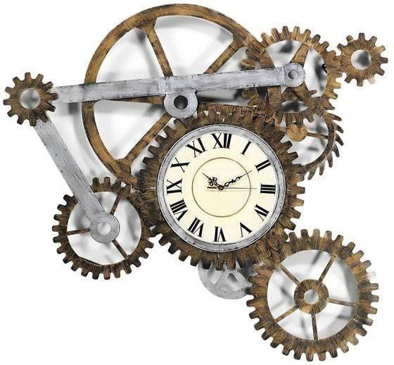 Resultado De Imagen Para Engranajes De Reloj Antiguo Reloj Estilo Steampunk Relojes De Pared Reloj