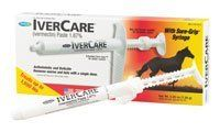 Ivercare Paste Dewormer 1Dose by Gifted Horse. $14.25. 1Dose syringe. All horses should be included in a regular parasite control program with particular attention being paid to mares, foals and yearlings. Foals should be initially treated at 6 to 8 weeks of age, and routine treatment repeated as appropriate. Ivercare paste may be used in horses of all ages, including mares at any stage of pregnancy. Stallions may be treated without adversely affecting their fertili...