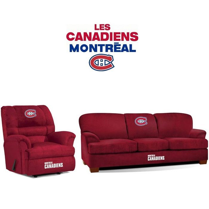 Use this Exclusive coupon code: PINFIVE to receive an additional 5% off the Montreal Canadiens Microfiber Furniture Set at SportsFansPlus.com