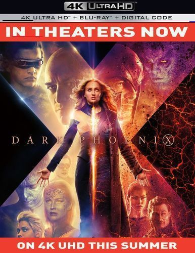 X Men Dark Phoenix Includes Digital Copy 4k Ultra Hd Blu Ray Blu Ray 2019 Br In 2020