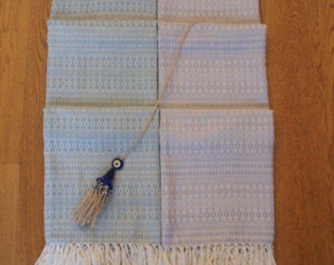 Peshtemal natural cotton, Turkish Towel hand woven,  beach, hammam,bath towel, Bridal gift, Spa Yoga Towel