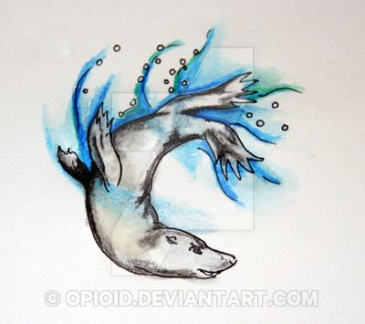 seal tattoo for helewidis by opioid on DeviantArt