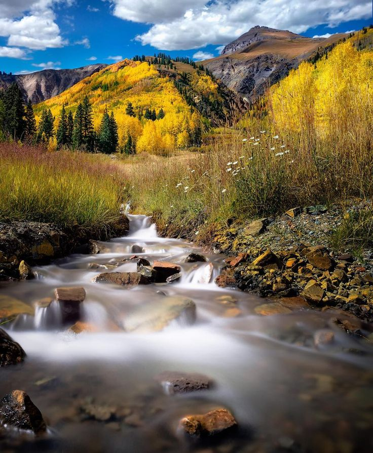 "472 Likes, 50 Comments - Christine Kenyon (@christinekenyonphoto) on Instagram: """"Slice of Heaven"" – Colorado in the fall – need I say more? . Photo Tip: My mission was to expose a…"""