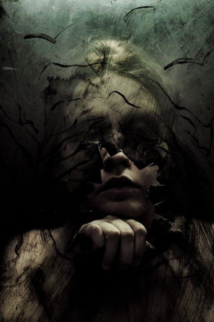 great creepy image #gothic #horror #darkness