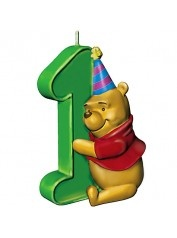Winnie the Pooh Birthday Party Candle