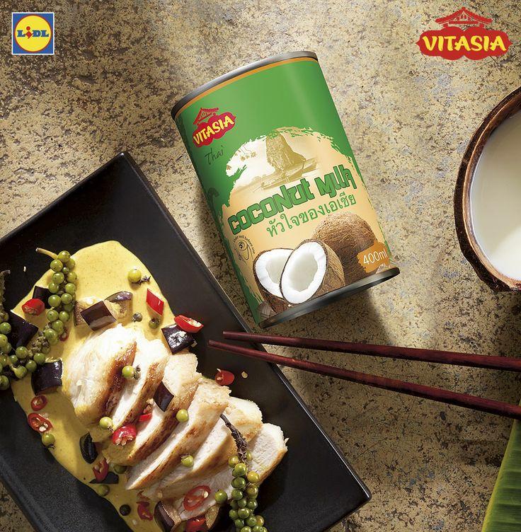 Mleczko kokosowe #lidl #vitasia #mleczko #kokos #azja