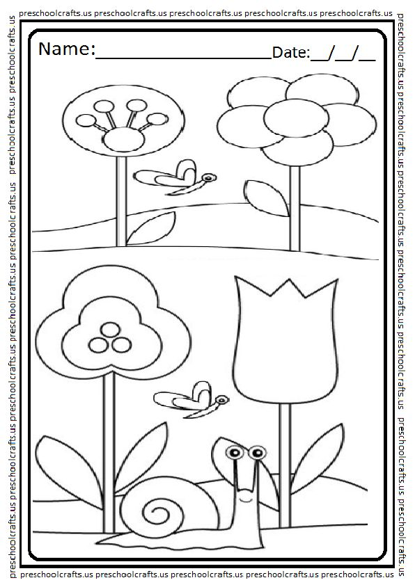 22 best Spring Theme Coloring Pages images on Pinterest Bicycle