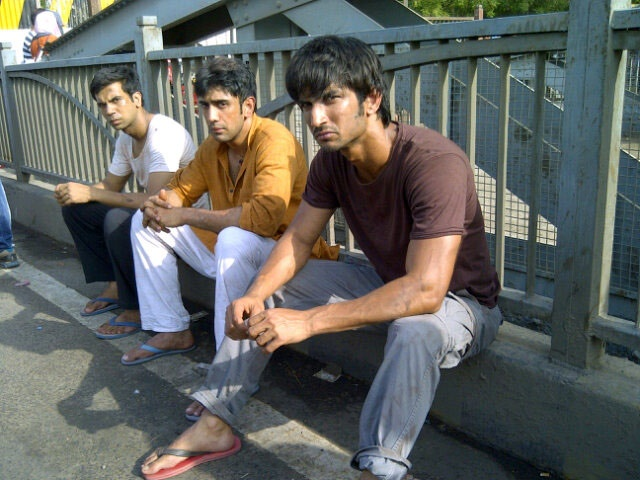 Sushant Singh Rajput, Raj Kumar Yadav and Amit Sadh star as Ishaan, Govind and Omi respectively in the movie.
