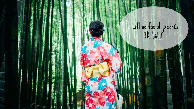Masaje o lifting facial japonés