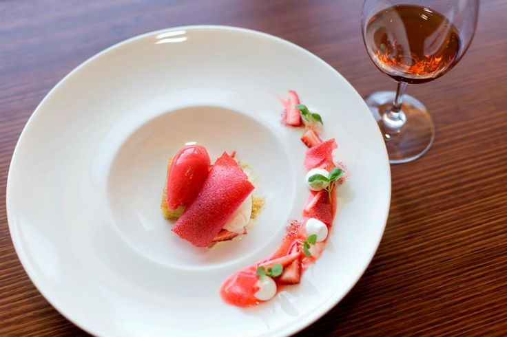 Delightful summer strawberry dessert at The Louise