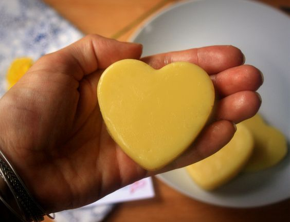 Homemade Lotion Bars with Coconut Oil. We just cannot believe how EASY these are to make!