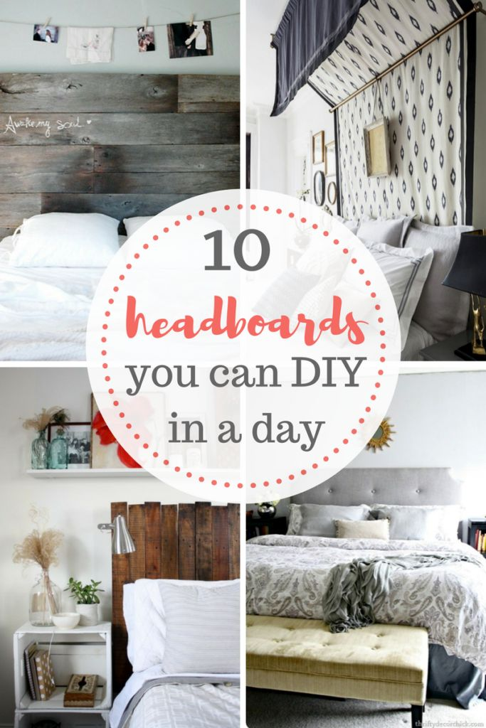 Quick and easy DIY headboard projects 144