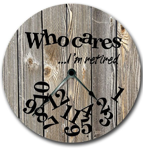 This quality wall clock was designed for rustic beach and cabin decor. Unique gift for a retirement. Custom printed OPEN FACE CLOCK does not need a frame or cover. It is a rigid clock base with a printed clock face. The quartz clock movement is mounted on the back. There is a built-in hanger on the back of the clock movement. Just beautiful in its simplicity. It is handcrafted and all parts including the quartz clock movement are made in the USA. CLOCK DETAILS: - Large 10 1/2 Open face ...