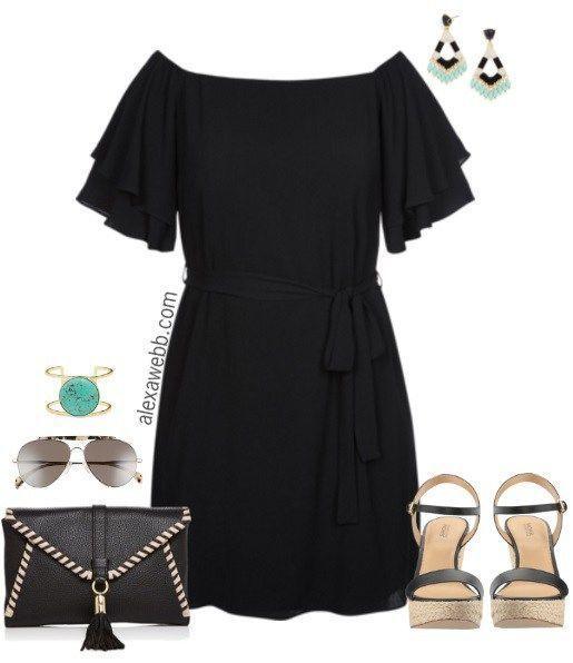 Chase 7 black dress plus