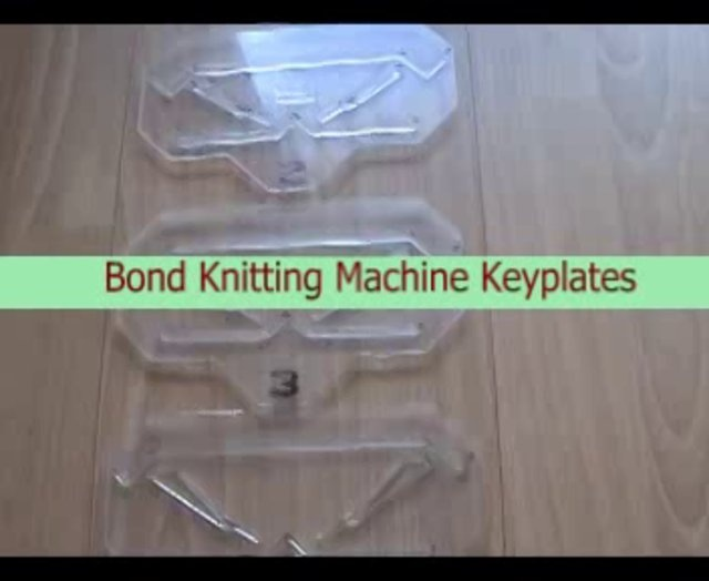 garter bar for bond knitting machine