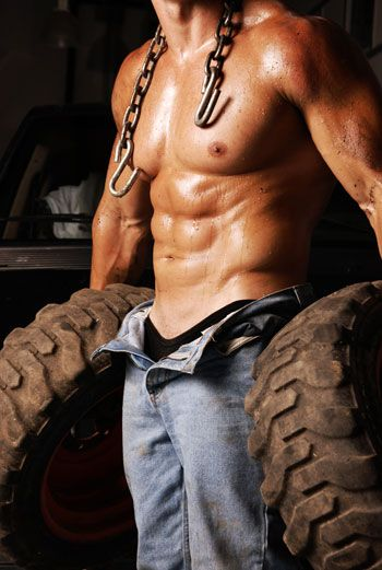 """When you hear the phrase """"hard work,"""" you often think of a strong back glistening with sweat engaged in hard labor."""
