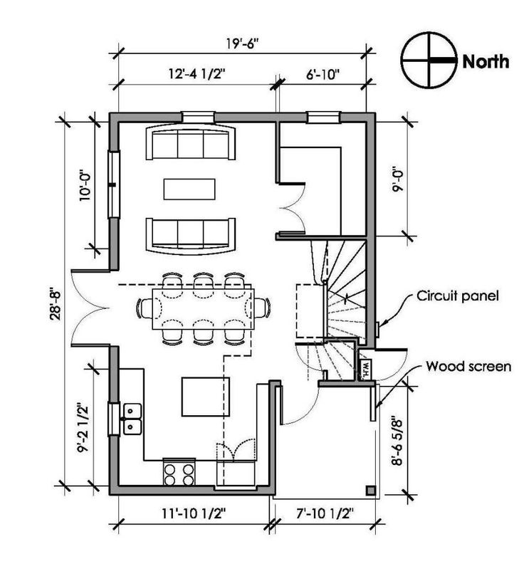 411 best images about small home plan ideas on pinterest for Backyard cottage floor plans