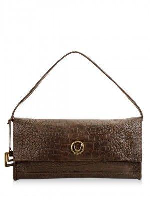 Hidesign Handbag With Dual Compartment by koovs.com