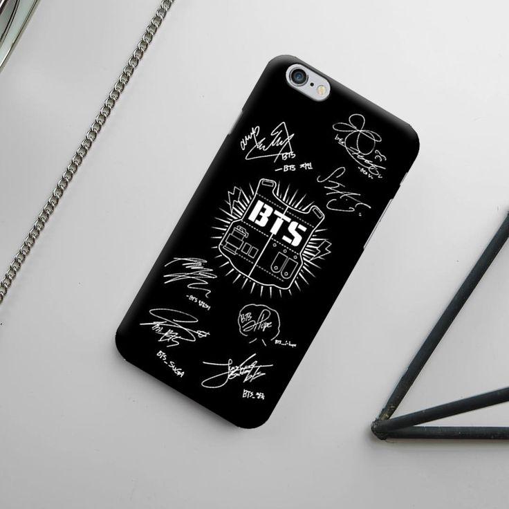 Custom case iphone 4567 theme kpop with bts cangkang