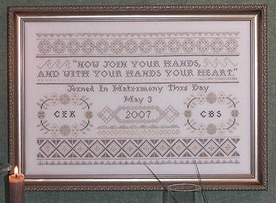 Shakespeare Wedding Sampler
