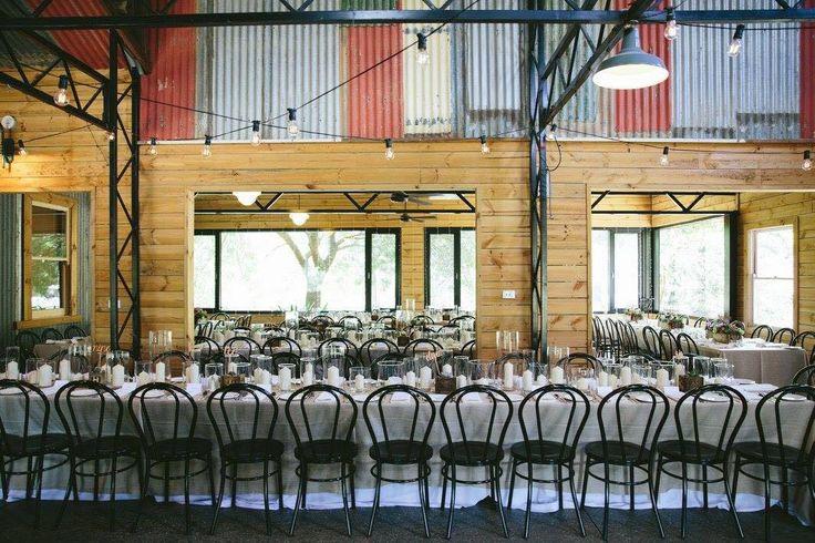 Inglewood Estate Reception Area- Table D' Hote Setting