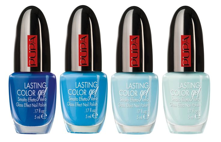 Pupa Lasting Color Gel Nail Polish Blue