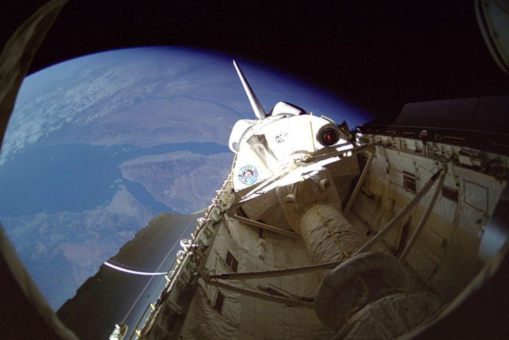 'First International Microgravity Laboratory Launches -- Jan. 22, 1992' image from the #NASA_App https://www.nasa.gov/centers/marshall/history/this-week-in-nasa-history-first-international-microgravity-laboratory-launches-jan-22.html