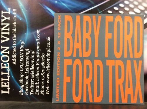 """Baby Ford Ford Trax Limited Edition 2 X 12"""" Singles Vinyl BFORD3 Dance 80's Club Music:Records:12'' Singles:Dance:House"""