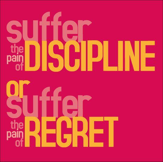 Suffer Discipline!