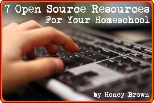open source resources for your homeschool