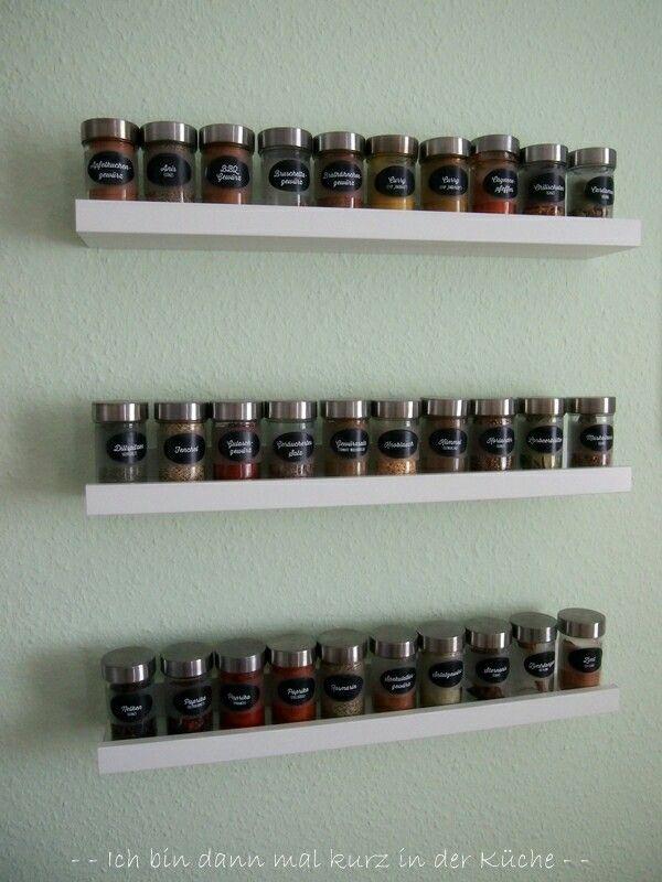 Glasvitrine Zum Hängen Ikea ~   auf Pinterest  Gewürzregale, Küchenregal und Ikea Gewürzregal