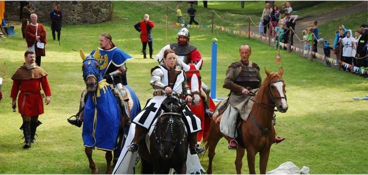 Knight's Tournament in Kożuchów, western Poland