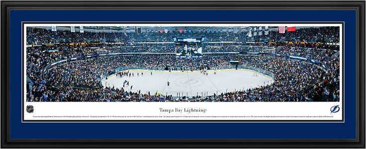 Tampa Bay Lightning - St. Pete Times Forum Pictures - NHL Panorama $199.95