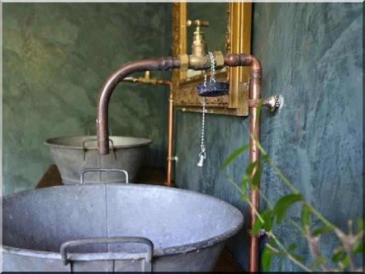 Antik fürdőszoba berendezés