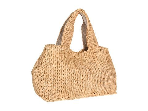 Hat Attack City Straw Tote
