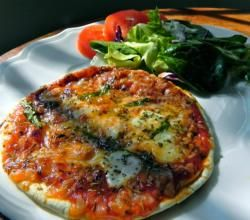 Flatbread Pizza Recipe by SimplyDeliciousLiving | ifood.tv