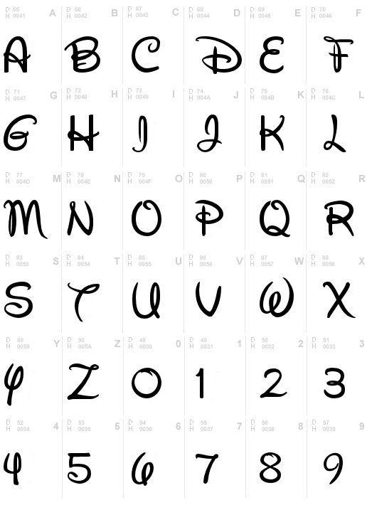 walt disney schrift