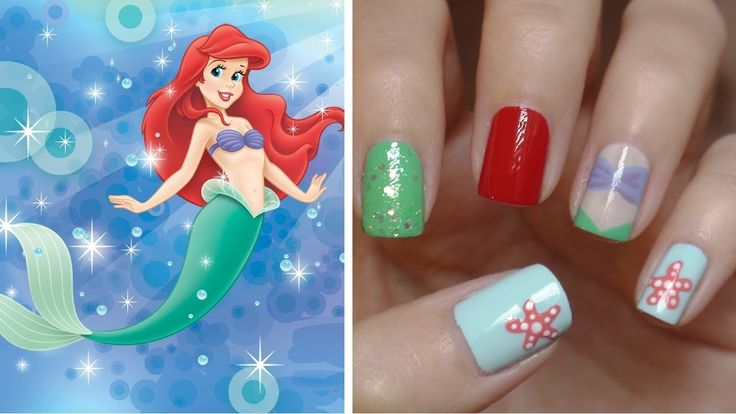 Little Mermaid Nails!!! And you betcha I'll be getting them!!!!!