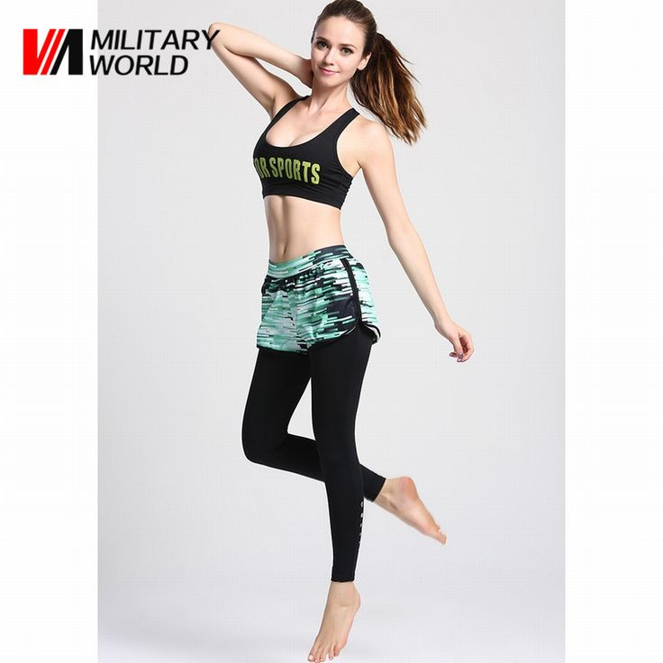Womens Tight Sports Yoga Leggings High Elastic Running Basketball Training Fitness Joggings Gym Long Pants Trousers Clothing