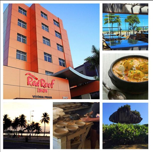 Our New Location, Red Roof Inn Vitoria, Is Located Right By Camburi Beach,  Great Shopping, Great Local Dining, And Beautiful, Natural Attractions.