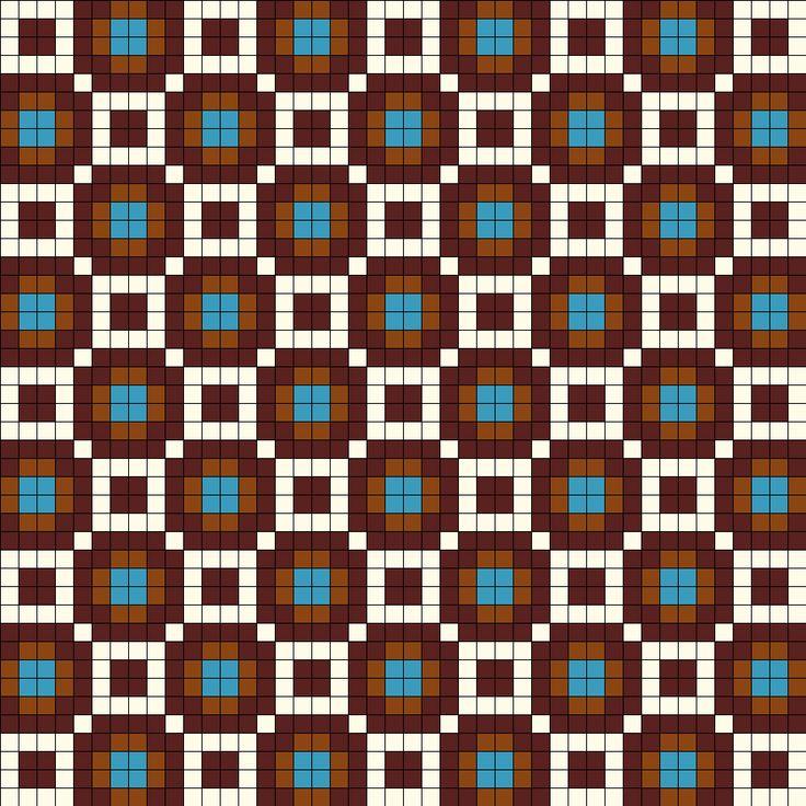 Wayuu Mochila pattern Africa Design Perler Bead Pattern