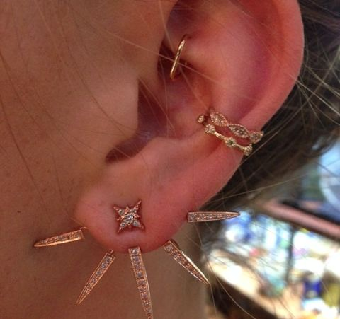Gorgeous Rook Piercing Jewelry Ideas at MyBodiArt