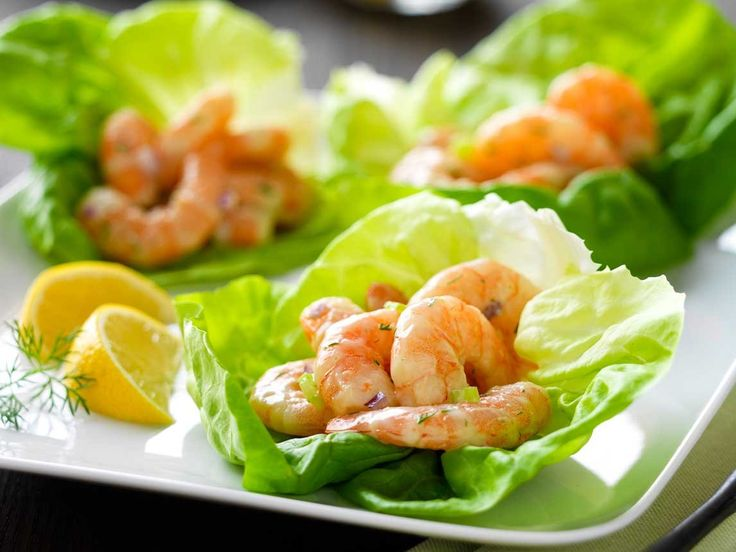 Did you know Silk® has a ton of tasty recipes, like  this one for Shrimp Salad Lettuce Cups? http://silk.com/recipes/shrimp-salad-lettuce-cups