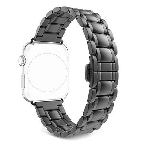 Oferta: 20.99€. Comprar Ofertas de Correa para Apple Watch Series 2 / 1, Rosa Schleife iWatch WristBand Reemplazo de Banda Smart Watch Band de Reloj de Acero In barato. ¡Mira las ofertas!