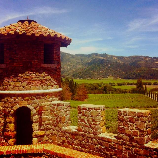 Napa Winery...Castello di Amorosa