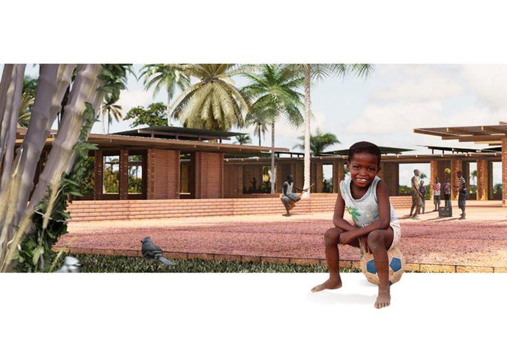 Escola Guiné Bissau #grauarquitetura www.grauarquitetura.com