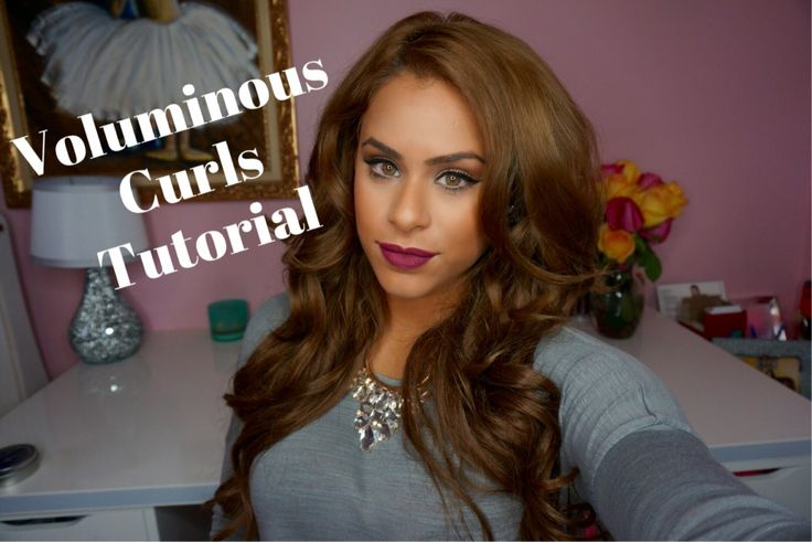Voluminous hair, Big hair, Lilly Ghalichi hair tutorial, Date night hair, Volume