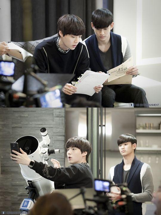 Cute boys from Man From The Stars | Ahn Jae Hyun & Kim Soo Hyun